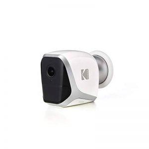KODAK W101 Caméra de Surveillance Full HD 1080p Totalement Autonome. Connexion WiFi et Batterie Longue durée. Utilisable en intérieur et en extérieur avec Batterie (4 Piles LR6 AA). de la marque KODAK image 0 produit