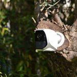 KODAK W101 Caméra de Surveillance Full HD 1080p Totalement Autonome. Connexion WiFi et Batterie Longue durée. Utilisable en intérieur et en extérieur avec Batterie (4 Piles LR6 AA). de la marque KODAK image 4 produit