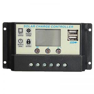 KUNSE 10A/20A 12V/24V Auto Panneau Solaire Batterie Régulateur Charge Contrôleur Pwm Batterie Recharge-20A de la marque KUNSE image 0 produit