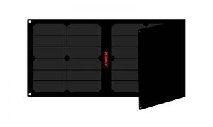 Litionite Arun 40W-20V Panneau Solaire Portable et Pliable avec Technologie ETFE/SUNPOWER - Régulateur de Tension Automatique - 1x USB - 1x DC - Chargeur pour Ordinateur/Power Bank/Smartphone/Tablet de la marque Litionite image 0 produit