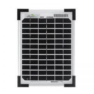 Offgridtec 002960 Panneau solaire 5W, 12V Module solaire monocristallin de la marque Offgridtec GmbH. image 0 produit