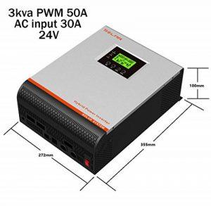 Onduleur multifonction onde pure 3 en 1 3000 VA/24 V/50 A/Chargeur 30 A de la marque Desconocido image 0 produit