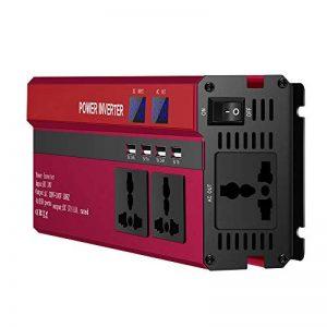 ONEVER 5000W solaire onduleur voiture LED DC 24V ¨¤ 220V AC Sine Wave Converter avec 4 Interfaces USB de la marque ONEVER image 0 produit