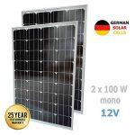 panneau photovoltaïque camping car TOP 9 image 1 produit