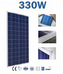 Panneau solaire polycrystallin 150W 250W 300W 330W 12V 24V 48V Dimensiones :1480 * 640 * 40 mm de la marque wccsolar.es image 0 produit