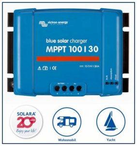 Premium Set victron Régulateur de charge MPPT 100/30pour caravane, avec ve. Direct Bluetooth Smart Dongle de la marque SOLARA image 0 produit