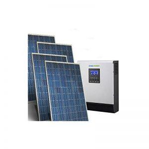 PuntoEnergia Italia - Kit Solaire Maison Base 1Kw 24V Systeme Photovoltaique Off-Grid Onduleur 2400W - KCS-1000B-2400 de la marque PuntoEnergia Italia image 0 produit