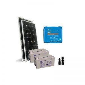 PuntoEnergia Italia - Kit solaire Pro2 200W 24V Panneau Mono Regulateur de Charge 10A Batterie 60Ah - KSP2-200M-24-B60-AVF de la marque PuntoEnergia Italia image 0 produit