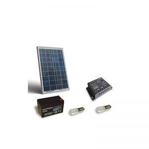 PuntoEnergia Italia - Kit Votif Solaire 10W Panneau Photovoltaïque Batterie AGM 7Ah 12V Contrôleur - KV-10 de la marque PuntoEnergia Italia image 0 produit