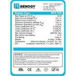 renogy 50 watts 12 volts panneau solaire monocristallin de la marque Renogy image 3 produit
