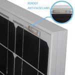 renogy 50 watts 12 volts panneau solaire monocristallin de la marque Renogy image 4 produit