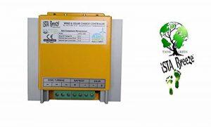 Régulateur de charge hybride, iSTA-Breeze® (12-24 V), 800 W - pour générateur de vent, éolienne, systèmes photovoltaïques et solaire - #4010 de la marque GETMORE Parts image 0 produit