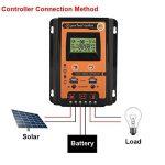 Régulateur de Charge Solaire 12V / 24V, Régulateur de Panneau Solaire Double USB Contrôleur de Charge Solaire MPPT avec Écran LCD.(30A) de la marque Garsent image 2 produit