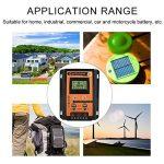 Régulateur de Charge Solaire 12V / 24V, Régulateur de Panneau Solaire Double USB Contrôleur de Charge Solaire MPPT avec Écran LCD.(30A) de la marque Garsent image 3 produit