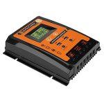 Régulateur de Charge Solaire, Keenso Contrôleur de Charge de Panneau Solaire MPPT Intelligent avec Ecran LCD Régulateur Batterie Affichage avec Double USB (70A) de la marque Keenso image 3 produit