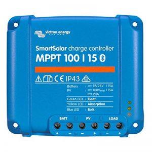 Régulateur de charge solaire smartsolar mppt 100/15 (12/24v) - victron energy de la marque VICTRON ENERGY image 0 produit