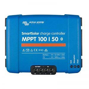 Régulateur de charge solaire smartsolar mppt 100/50 (12/24v) - victron energy de la marque VICTRON ENERGY image 0 produit