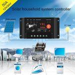 Régulateur de contrôleur de charge de panneau solaire Anti-Lightning Régulateur de sortie étanche et direct pour 50A 12 / 24V 6 / 1200W Protection de batterie de rue de la marque Beimaji Trade image 1 produit