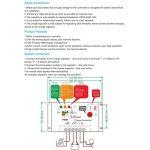 Régulateur de contrôleur de charge de panneau solaire Anti-Lightning Régulateur de sortie étanche et direct pour 50A 12 / 24V 6 / 1200W Protection de batterie de rue de la marque Beimaji Trade image 3 produit