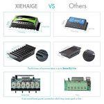 Régulateur de panneau solaire, 30A 12V / 24V, Régulateur de charge solaire intelligent avec fusible de batterie, 2 ports USB, ajustement de température et protection contre la surcharge de la marque XIEHAIGE image 3 produit