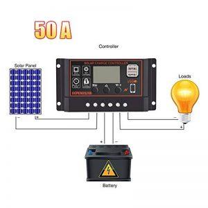 régulateur solaire 50a TOP 3 image 0 produit