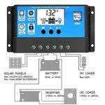 S210A/20A/30A 12V/24V LCD Solaire contrôleur de Charge Courant Fonction d'affichage Automatique Régulateur de Panneau Solaire Rechargeable Lampe Protection de Surcharge de la marque S2 image 1 produit