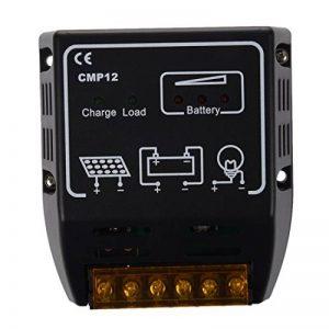 SODIAL (R)CMP REGULATEUR CONTROLLEUR DE PANNEAU SOLAIRE 12V/24V de la marque SODIAL(R) image 0 produit
