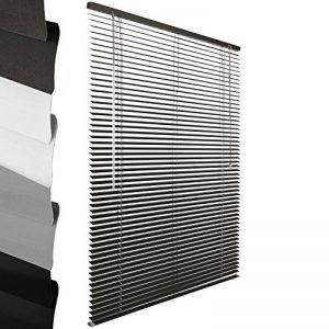 Sol Royal - Store venitien en Aluminium - Gris - 85 x 130 cm - Montage Simple sans vis - Systeme de Fixation Inclus de la marque Sol Royal image 0 produit