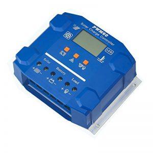 SUG 50A 24V 12V LCD USB Contrôleur Charge Solaire PWM Régulateur de Batterie de Panneau Solaire Intelligent Auto Protection Contre Surcharge Compensation de Température de la marque SUGPV image 0 produit