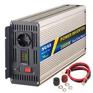 Sug Convertisseur Pur Sinus 2000w onduleur 12V à 220V Onde sinusoïdale Pure Power Inverter de la marque SUGPV image 0 produit