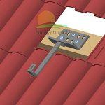 Support Crochet réglable pour installation panneau solaire photovoltaïque solaire thermique soprategola de la marque Best Solar image 2 produit