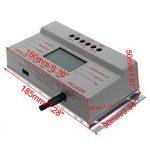 Top-Sell LCD 30A 12V / 24V MPPT Panneau solaire Régulateur de batterie Régulateur de charge T20 3 Minuterie de la marque Top-Sell image 1 produit
