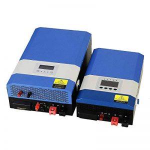 Tumo-Int 3000W 24V DC 48V à AC 240V Mural Chargeur onduleur à Double Tension avec contrôleur Solaire MPPT DE 40 ampères de la marque Tumo-Int image 0 produit
