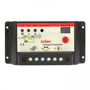 Tutoy 10/20/30A Panneau Solaire Régulateur De Charge Contrôleur Intelligent 12/24V USB St Light & Timer Chargeur - 30A de la marque Tutoy image 0 produit