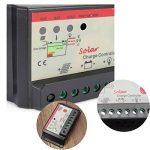Tutoy 10/20/30A Panneau Solaire Régulateur De Charge Contrôleur Intelligent 12/24V USB St Light & Timer Chargeur - 30A de la marque Tutoy image 4 produit