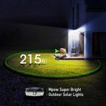 【Version Innovante】2 PACK 30 LED Mpow Lampe Solaire Etanche IPX6 Détecteur de Mouvement Panneau Solaire Amélioré Eclairage Solaire Extérieur pour jardin, Garage, Cour, Maison, Escalier, Patio, Allée de la marque Mpow image 3 produit