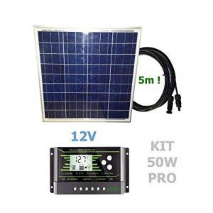 VIASOLAR Kit 50W Pro 12V Panneau Solaire de la marque VIASOLAR image 0 produit