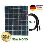 VIASOLAR Kit 50W Pro 12V Panneau Solaire monocristallin cellules allemandes de la marque VIASOLAR image 1 produit