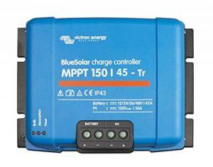 Victron BlueSolar Régulateur solaire MPPT 150/45-Tr 12/24/36/48 V 45 A de la marque Victron image 0 produit
