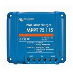 Victron Energy Set BlueSolar | régulateur de charge solaire |régulateur de charge | régulateur solaire | MPPT 75/15 | 12 - 24 V | 15A | y compris VE.Direct Bluetooth Smart Dongle de la marque Victron Energy image 1 produit