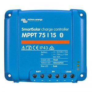 Victron Smart Régulateur de charge solaire avec intergiertem Bluetooth 75/1075/15100/15100/20 de la marque VICTRON ENERGY image 0 produit