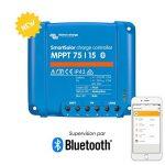 Victron Smart Régulateur de charge solaire avec intergiertem Bluetooth 75/1075/15100/15100/20 de la marque VICTRON ENERGY image 3 produit