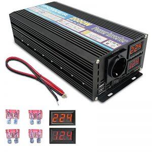 Yinleader Convertisseur onde sinusoïdale modifiée 12v 220v onduleur 2000w 4000W transformateur de tension LED de la marque Yinleader image 0 produit