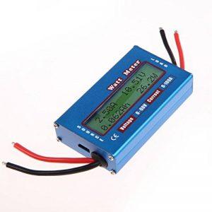 Youn - Wattmètre - pour mesurer la puissance d'un panneau solaire ou d'une éolienne - 12 V - 24 V de la marque YouN image 0 produit