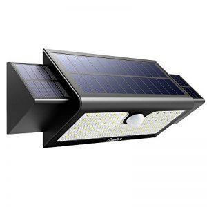 Zanflare 71 LED Lampe Solaire Extérieure Imperméable, Lampe de Sécurité de Détecteur de Mouvement,pour Jardin, Clôture, Patio, Cour, Allée, Escaliers, Mur Extérieur (Capacité de 5200mAh) de la marque Zanflare image 0 produit