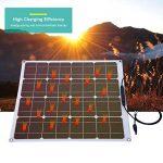 Zerone 500W Module photovoltaïque de Panneau Solaire photovoltaïque polycristallin 12V Eco-Digne Batterie de Charge pour Yacht RV Voiture Bateau Offgrid de la marque Zerone image 4 produit
