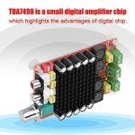 Zerone Module d'amplificateur Audio 2 × 100W d'amplificateur Audio du Panneau TDA7498 d'amplificateur de Puissance de Puissance Ultra-numérique de 18-100KHZ de la marque image 1 produit